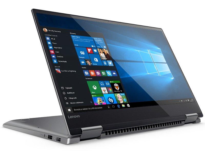 LENOVO IdeaPad YOGA 720-15IKB (80X7005QHV) szürke Laptop - Kifutott