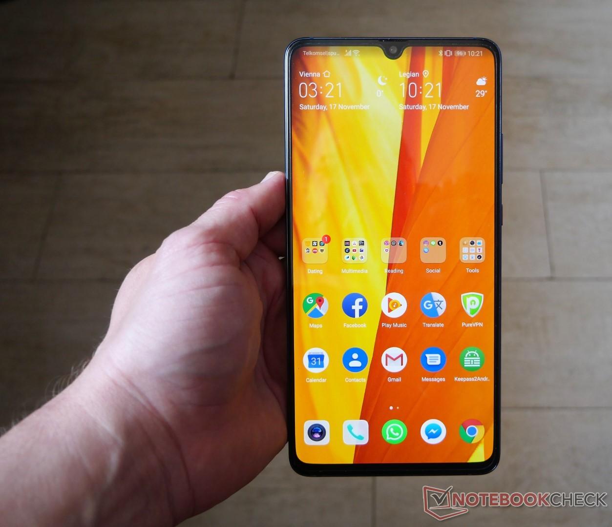 Huawei Mate 20 X Hands On Und Erfahrungsbericht Zum Riesenhandy Mit Pen Support Notebookcheck Com News