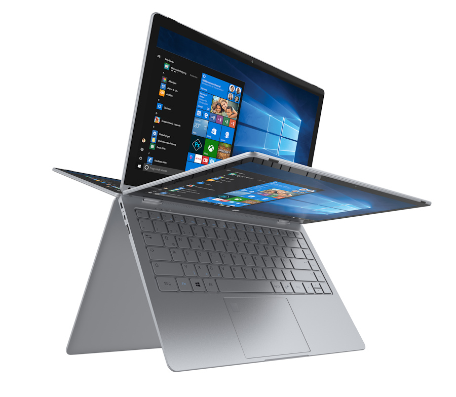 Trekstor Announces Primebook C13 2 In 1 To Compete Against The Dell Inspiron 3000 2 In 1 Notebookcheck Net News