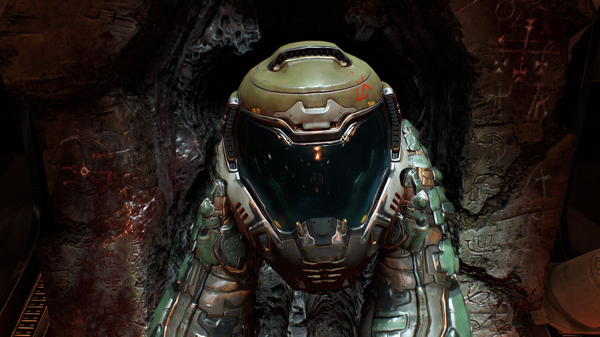 Finding an updated take on the classic Doom Marine Armor is incredibly exciting.