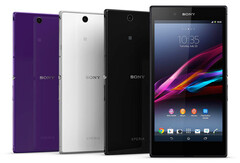 The Sony Xperia Z Ultra came in a choice of several colors and sported a Triluminos display. (Image source: Sony)