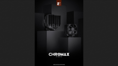 Noctua's latest chromax.black products. (Source: Noctua)