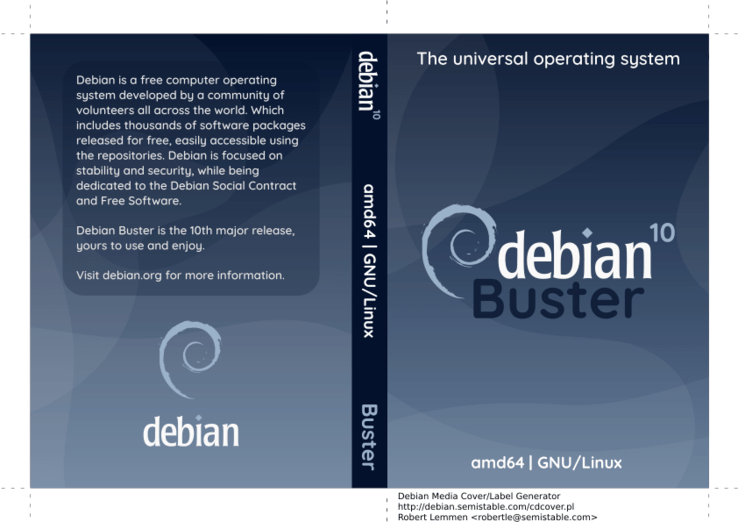 Debian 10 Quot Buster Quot Now Available For Download