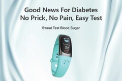 The Hela Bio Smartwatch can supposedly monitor blood sugar levels from sweat. (Image source: Hela Bio Smart Watch)
