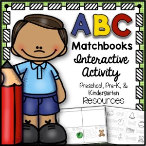 ABC Matchbooks Interactive Activity