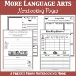 Freebies: More Language Arts Notebooking Pages