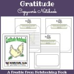 Freebie: Gratitude Copywork Notebook