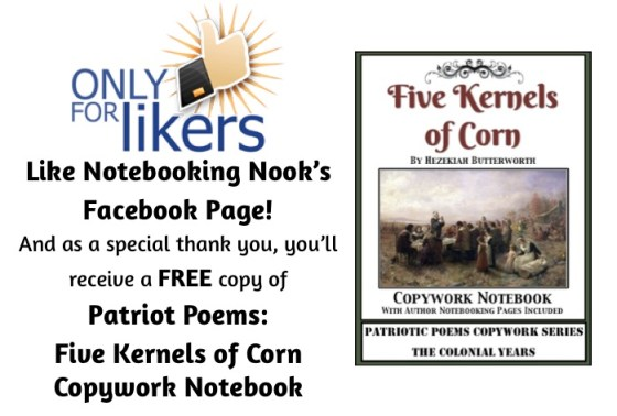 "November ""Only for Likers"" Facebook Freebie!"