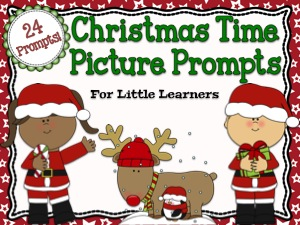 Christmas Time Picture Prompts For Little Learners