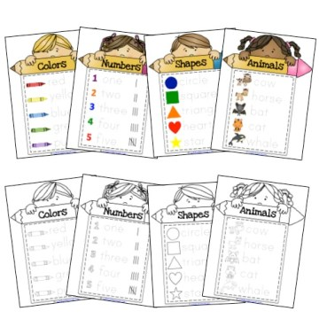 Writing Practice Notebook For Little Learners Samples