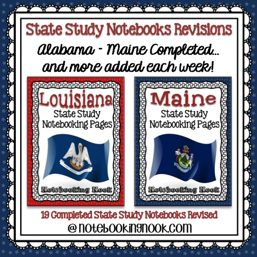 Louisiana & Maine Revisions Completed