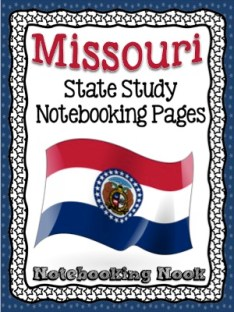 Missouri State Study Notebooking Pages Revised