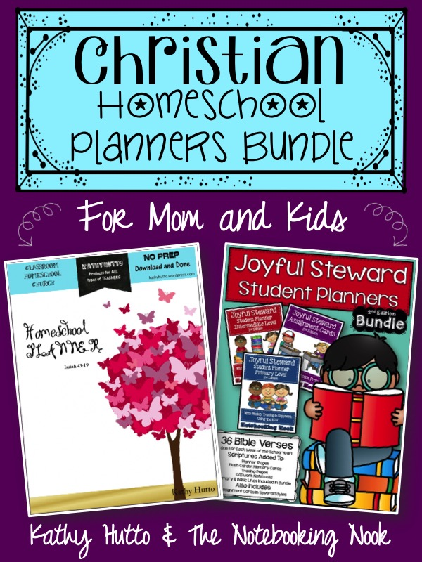 Homeschool Planners Bundle - For Mom and Kids!