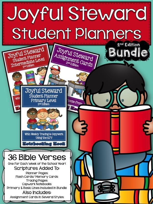 Joyful Steward Student Planners 2nd Edition Bundle