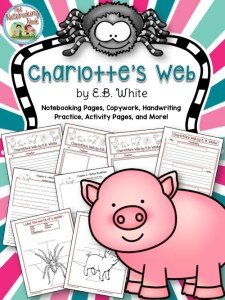 Charlotte's Web Notebooking Pages and More!