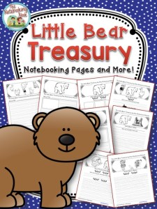 Little Bear Treasury Notebooking Pages and More!