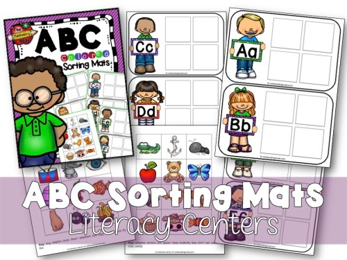 ABC Sorting Mats (Color)
