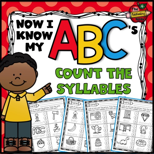 Alphabet Count the Syllables