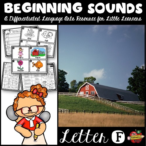 Beginning Sounds - Letter F