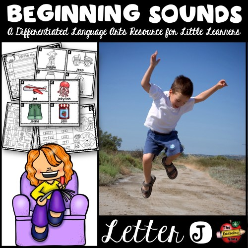 Beginning Sounds - Letter J