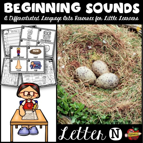Beginning Sounds - Letter N