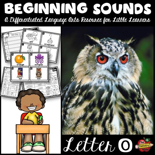 Beginning Sounds - Letter O