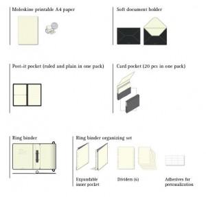 moleskine folio binder