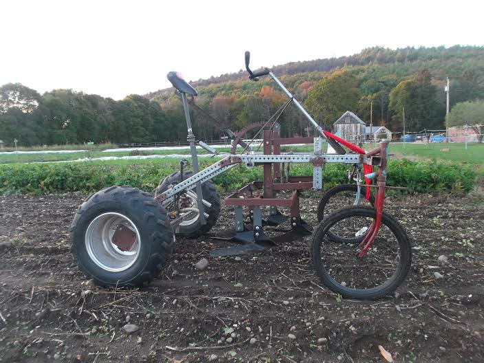 culticycle pedal powered tractor 1
