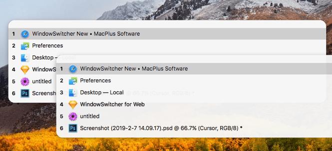 WindowSwitcher 1.1.2 Mac 破解版 快捷键窗口管理工具