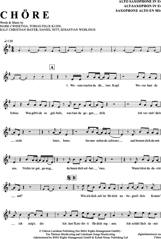 Happy Birthday To You Alto Saxophone Youtube