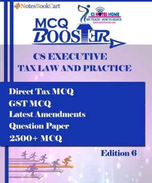 Best CS Executive Cost and Management Accounting 2700+ mcq book