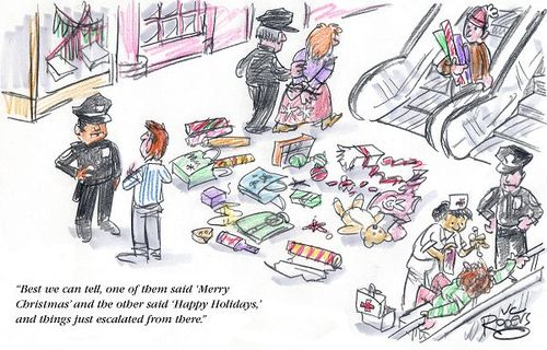 What's with the Conflict?: Merry Christmas & Happy Holidays