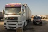 Der Truck von Abdurrahman neben unserem Truck