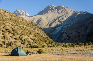 Camping, Fan Mountains