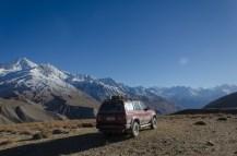 Richtung Pamir Range