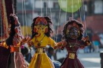 Marionetten am Durbar Square, KTM