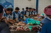 Dubai Fischmarkt - man spricht Hindi