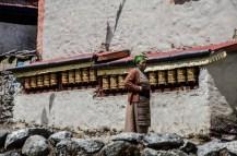 Gebetsmühlen, Khumjung
