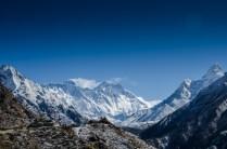 Everest mit Rauchfahne