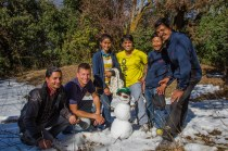 Nepali Snowman