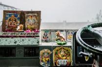 Ganesh möge den Busfahrer schützen