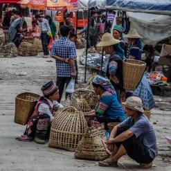 Markttag im Dorf