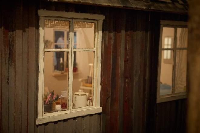 Smultron Cottage, a 1:5 scale dollhouse by Atelier Björkåsa