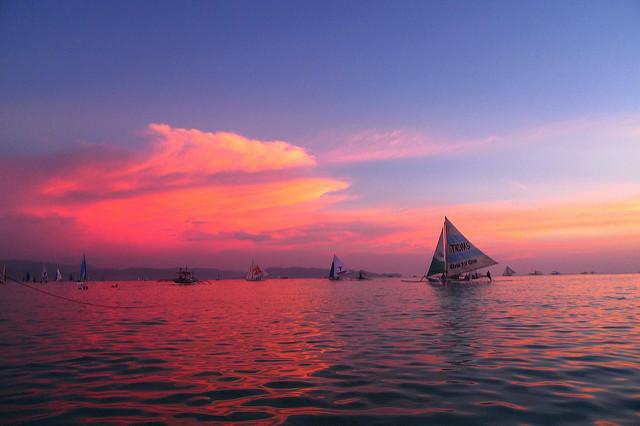 2011 Boracay Sunset