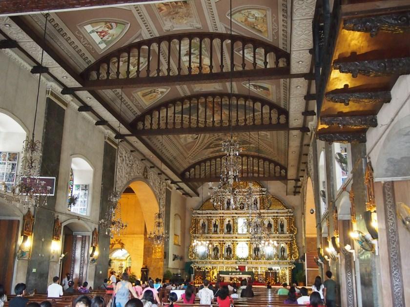 Cebu Basilica Altar