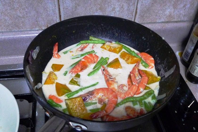 Shrimp in Coconut Milk3