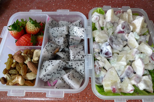Waldorf Salad Lunchbox