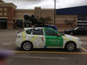 Google Street Views car & camera
