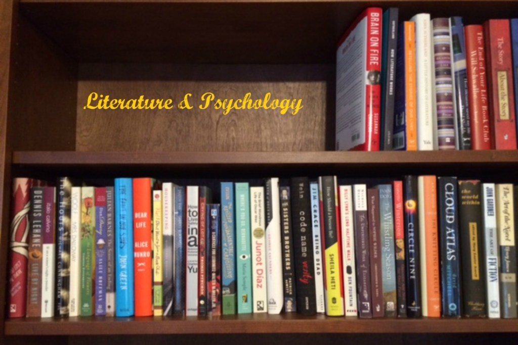bookshelves: Literature and Psychology