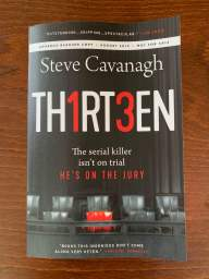 Cover: Thirteen by Steve Cavanagh